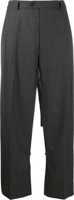 Maison Margiela Cut-Out Tailored Trousers