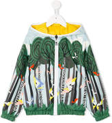 Fendi printed reversible jacket