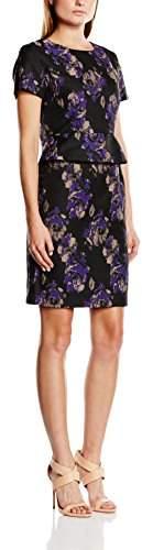 Almost Famous Women's Peplum Short Sleeve Dress