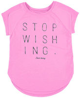 Mayoral Stop Wishing Start Doing Jersey Tee, Size 8-16