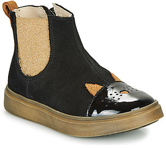 Catimini CLARISSE girls's Mid Boots in Black