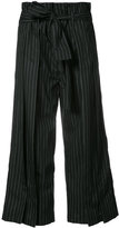 Tome flared cropped trousers - women - Cotton - S