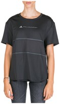 Thumbnail for your product : adidas by Stella McCartney Layered Logo Printed T-Shirt