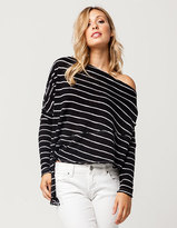 Free People Striped Love Lane Womens Top