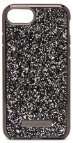 Nanette Lepore Black Glitter iPhone 6/6S/7/8 Case