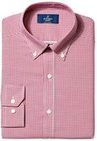 Buttoned Down Men's Non-Iron Fitted Button-Collar Dress Shirt