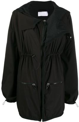 NO KA 'OI Drawstring-Waist Parka Jacket
