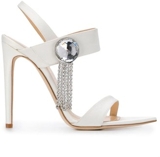 Chloe Gosselin Embellished High Heel Sandals