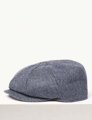 M&S CollectionMarks and Spencer Wool Baker Boy Hat