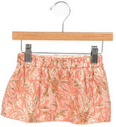 Dolce & Gabbana GIrls' Jacquard Metallic Skirt