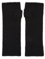 Isabel Marant Black Cruz Mittens