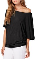 Michael Stars Women's Boatneck Dolman Sleeve Jersey Top