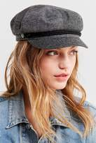 Brixton + UO Fiddler Patchwork Herringbone Fisherman Hat