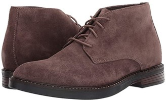 Clarks Paulson Mid (Taupe Suede) Men's Shoes