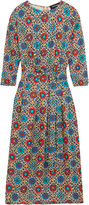 Vanessa Seward Aurore printed silk crepe de chine dress