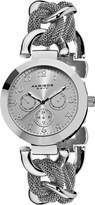 Akribos XXIV Women's AK564SS Multi-Function Mesh Link Bracelet Watch