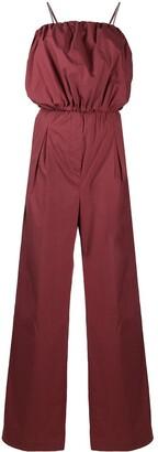 Brunello Cucinelli Puff Cotton Jumpsuit