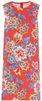 Carolina Herrera Floral stretch-cotton shift dress