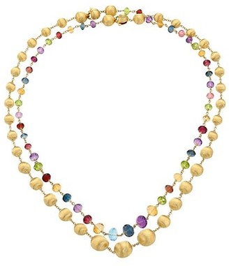 Marco Bicego Africa 18K Yellow Gold & Mixed Gemstone Necklace