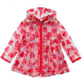 Catimini Transparent Heart Raincoat