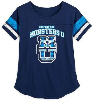 Disney Monsters University Football T-Shirt for Women