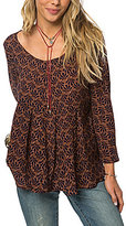 O'Neill Didi Printed Bell Sleeve Top