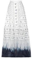 Erdem Tavi Printed Cotton Skirt