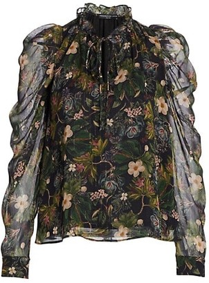 Generation Love Lou Floral Jungle Blouse