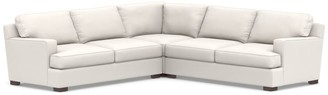 Pottery Barn Townsend Square Arm Upholstered 3-Piece L-Sectional