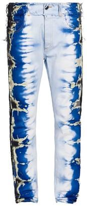 Palm Angels Tie-Dye Slim Jeans