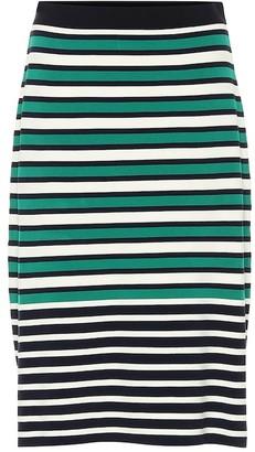 Tory Sport Striped knit skirt