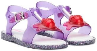 Mini Melissa Glitter Lolipop Sandals