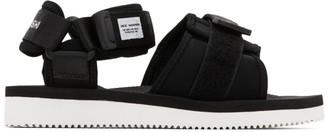 Suicoke Black maharishi Edition Kuno Flat Sandal