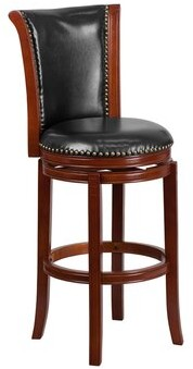 "Darby Home Co Savarese Swivel Counter & Bar Stool Seat Height: Bar Stool (30.5"" Seat Height)"