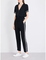The Kooples Sport Combinaison embellished jumpsuit