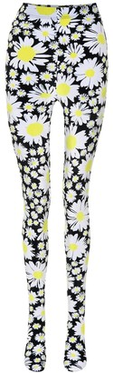 Richard Quinn Daisy-print velvet tights