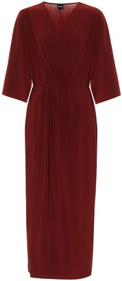 Max Mara Leisure Canore jersey midi dress