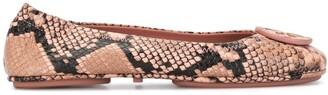 Tory Burch Minnie Travel ballerina shoes