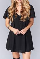 Show Me Your Mumu Kylie Black Dress