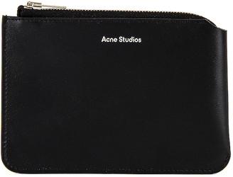 Acne Studios Malachite Wallet in Black | FWRD