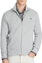 Polo Ralph Lauren Ribbed Cotton Full Zip Cardigan Sweater