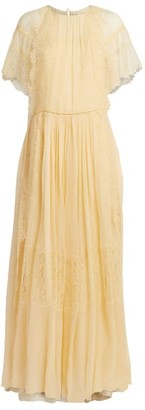 Chloé Lace-Trimmed Gown