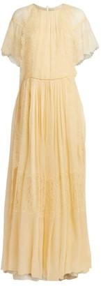 Chloé Lace-Trimmed Gown