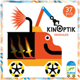 Djeco Multicoloured Vehicle Kinoptik Game