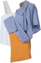 Enfold repair two part blouse