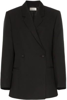 Totême Loreo double-breasted oversized blazer jacket