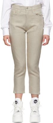 Junya Watanabe Beige Linen Trousers