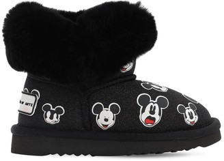 Moa Master Of Arts Mickey Mouse Glittered Boots