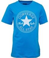 Converse Junior Boys Chuck Patch T-Shirt Spray Paint Blue