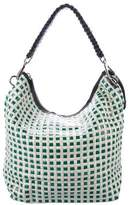 Marni Woven Patent Leather Hobo